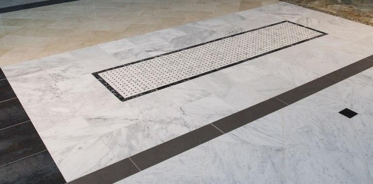 Greecian White Basketweave Polished Pattern Mosaic
