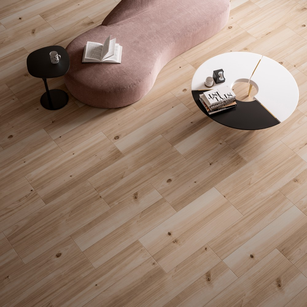 Havenwood Beige 8X36 Matte Porcelain Tile