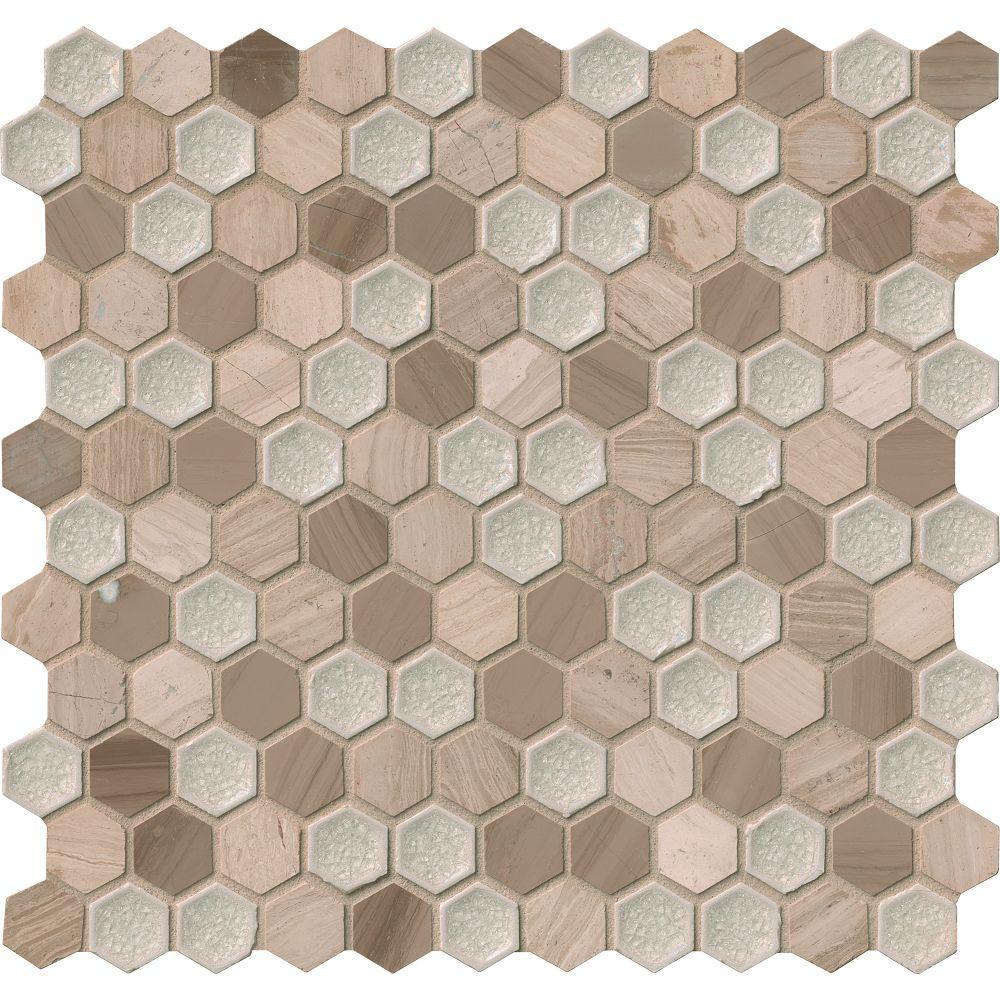 Hexham Blend Hexagon 12X12 Misc