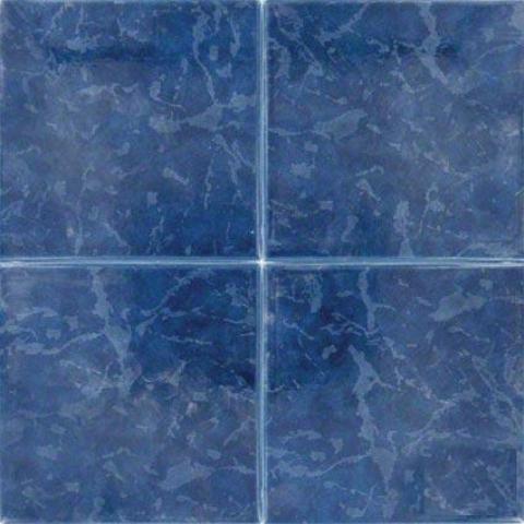 Island Cobalt 6X6 Matte Porcelain Tile