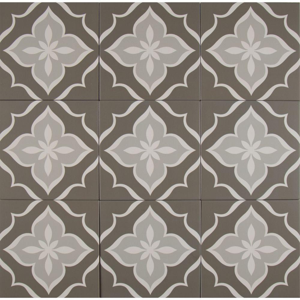 Kenzzi La Fleur 8X8 Matte Porcelain Tile