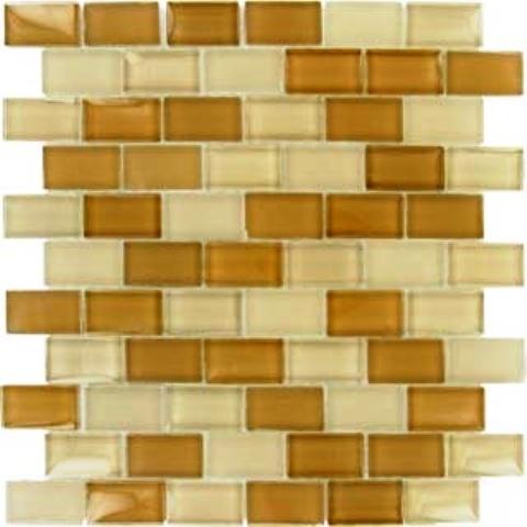 Brick Mocha Cream Blend Pattern