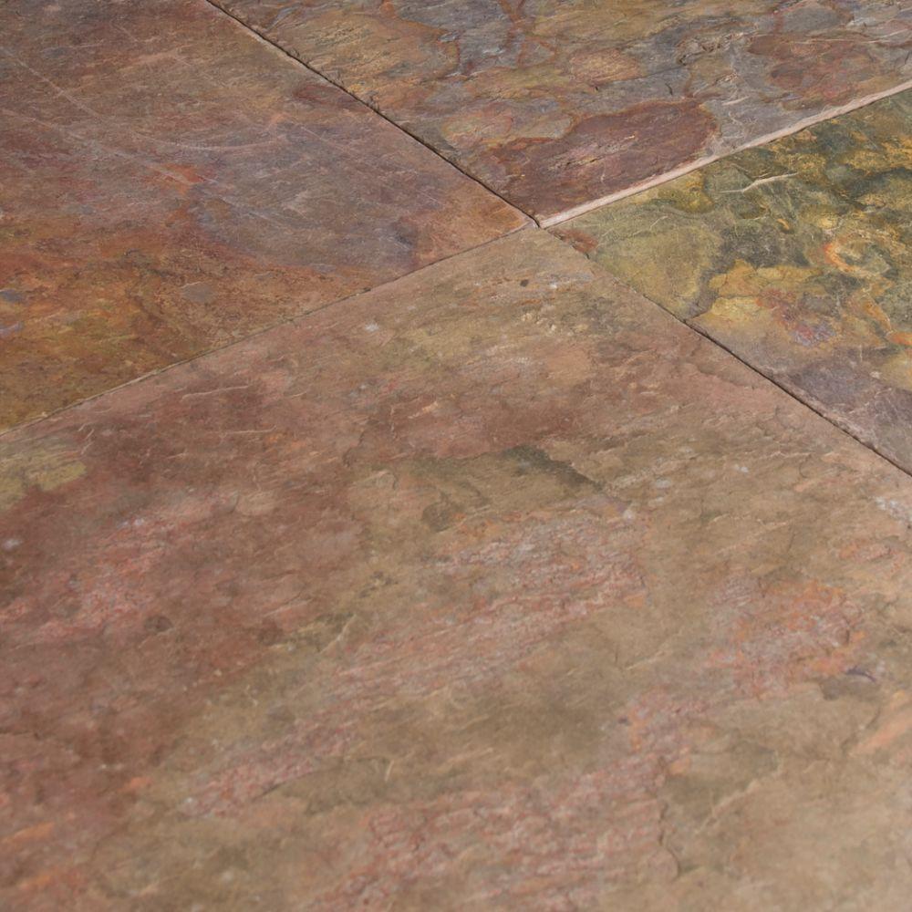 Multi Classic 24X24 Gauged Slate Tile