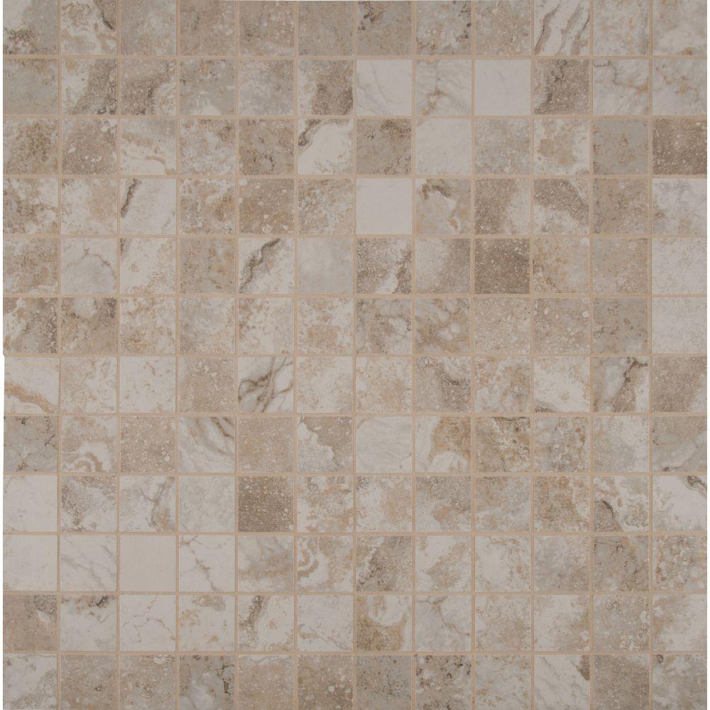 Napa Beige 2X2 Matte Ceramic Mosaic