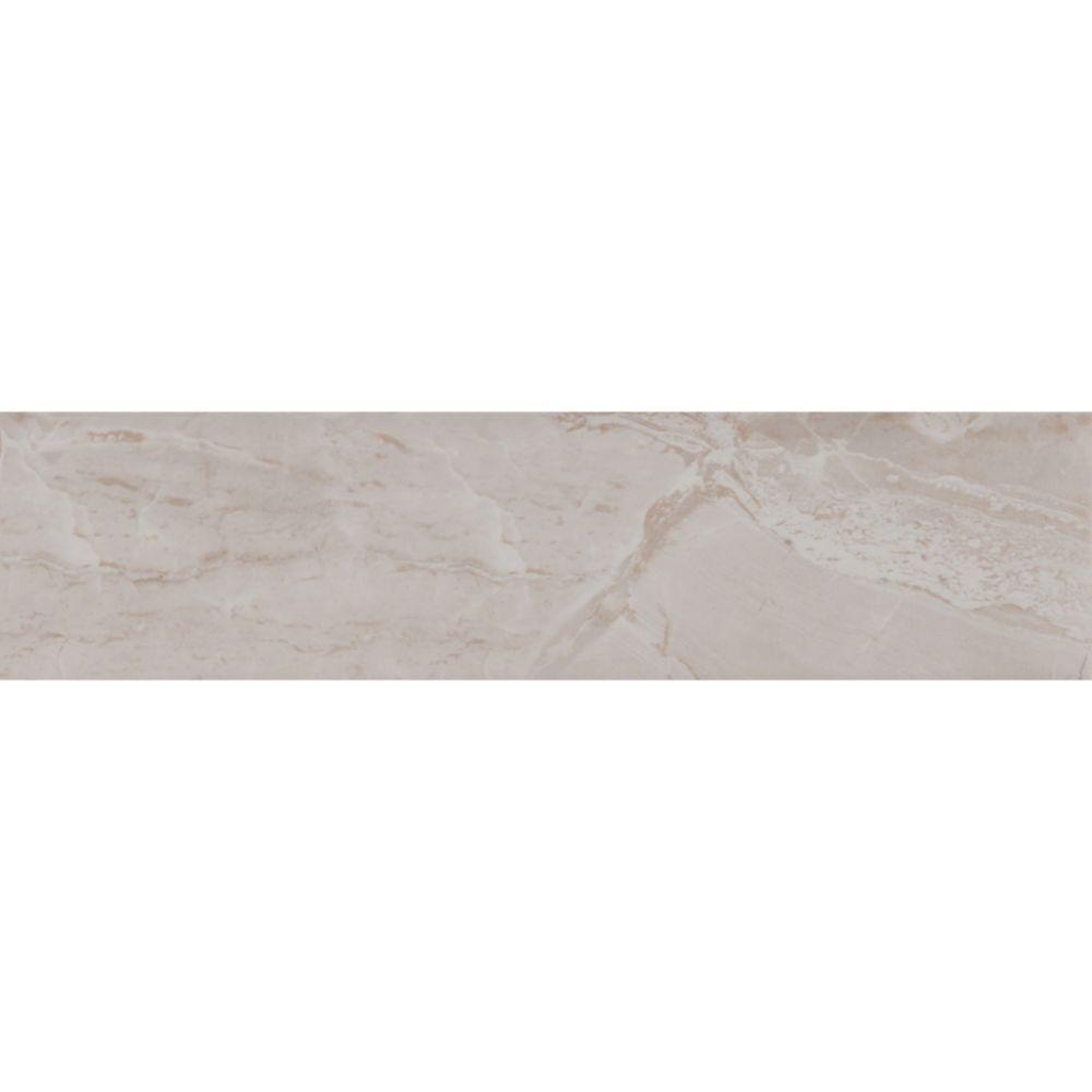 Onyx Grigio 3x18 Matte Bullnose Tile
