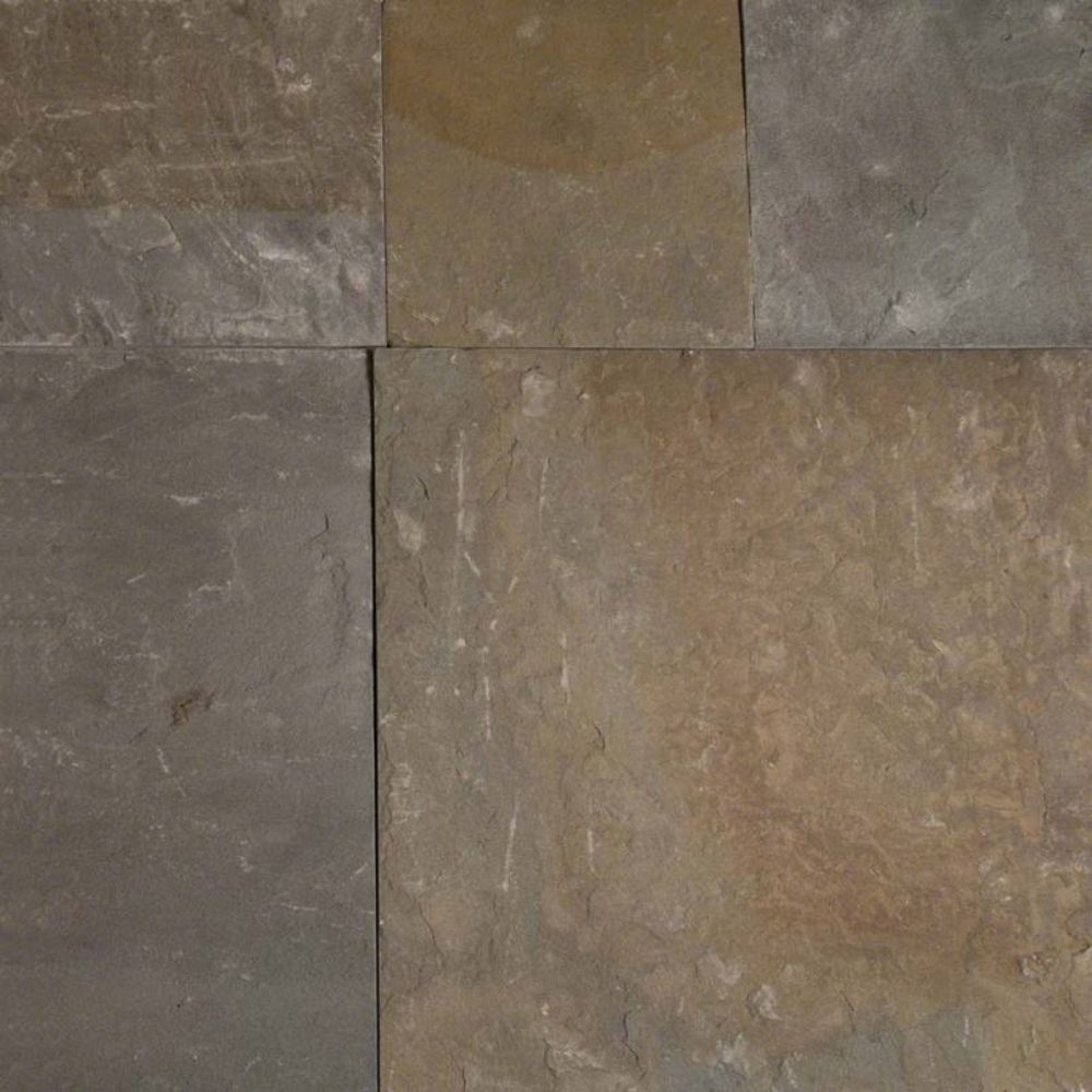 Pennsylvania Bluestone 12X12 Natural Cleft Sandstone Paver
