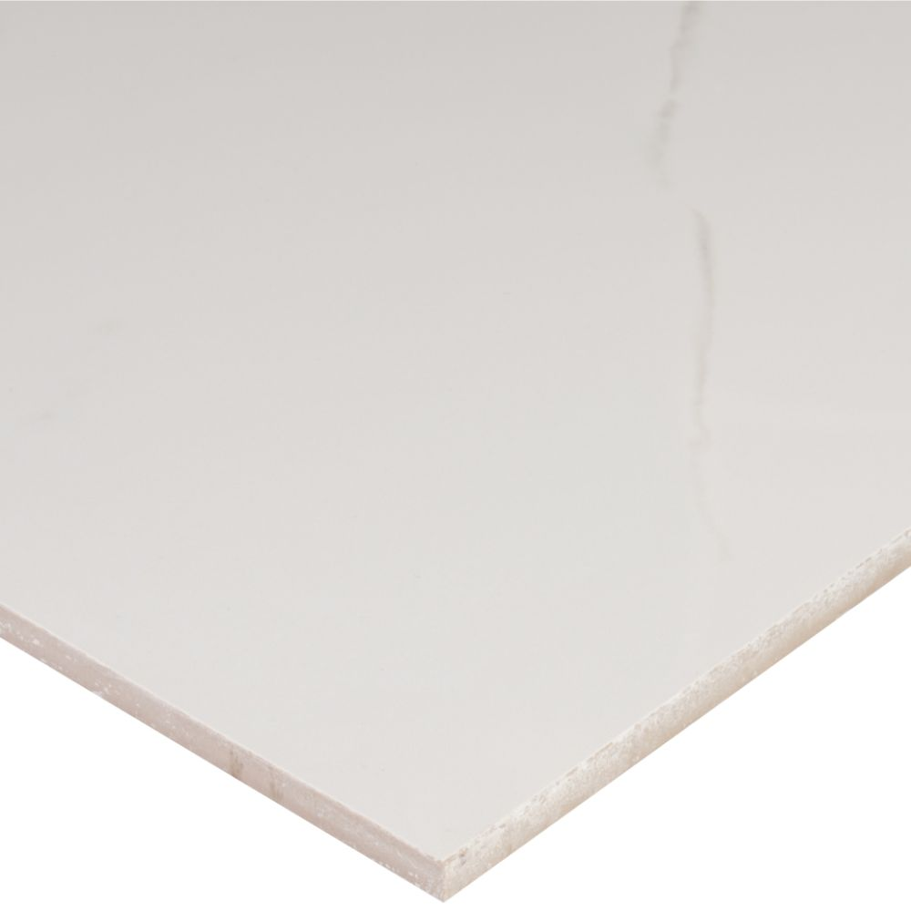 Pietra Carrara 12X24 Polished Porcelain Tile