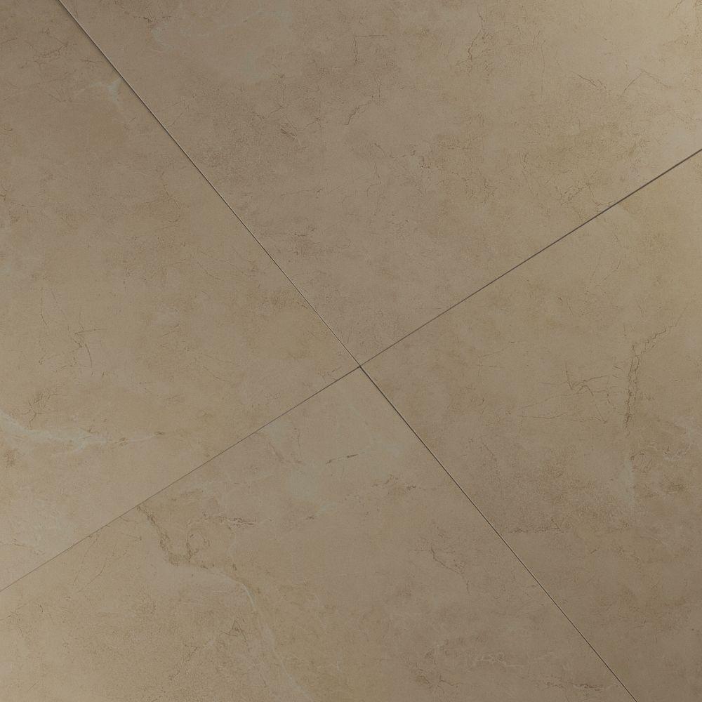 Pietra Marfil 18X18 Polished Porcelain Tile
