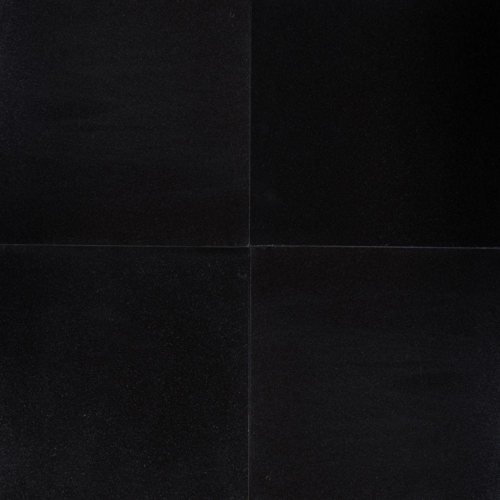 Premium Black 18X18 Polished