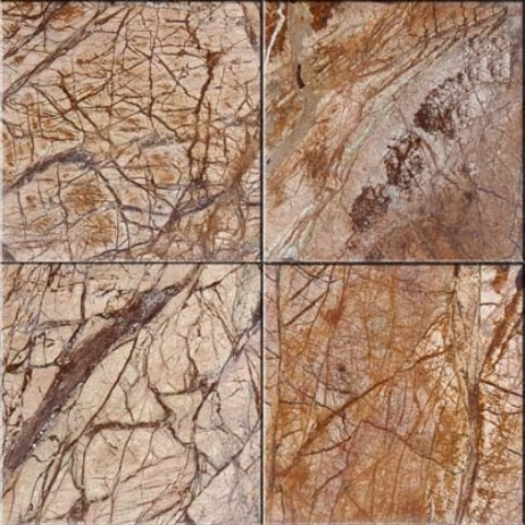 Rainforest Brown Marble Tile