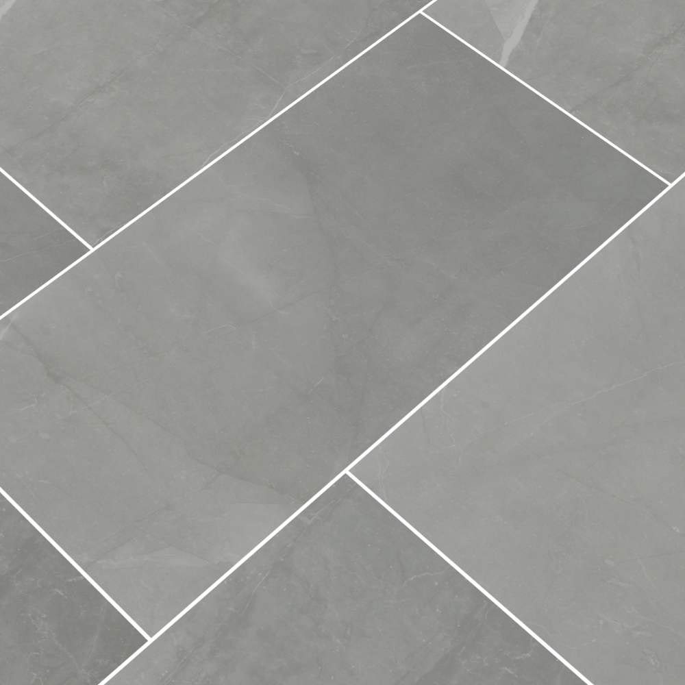 Sande Grey 24x48 Polished Porcelain Tile
