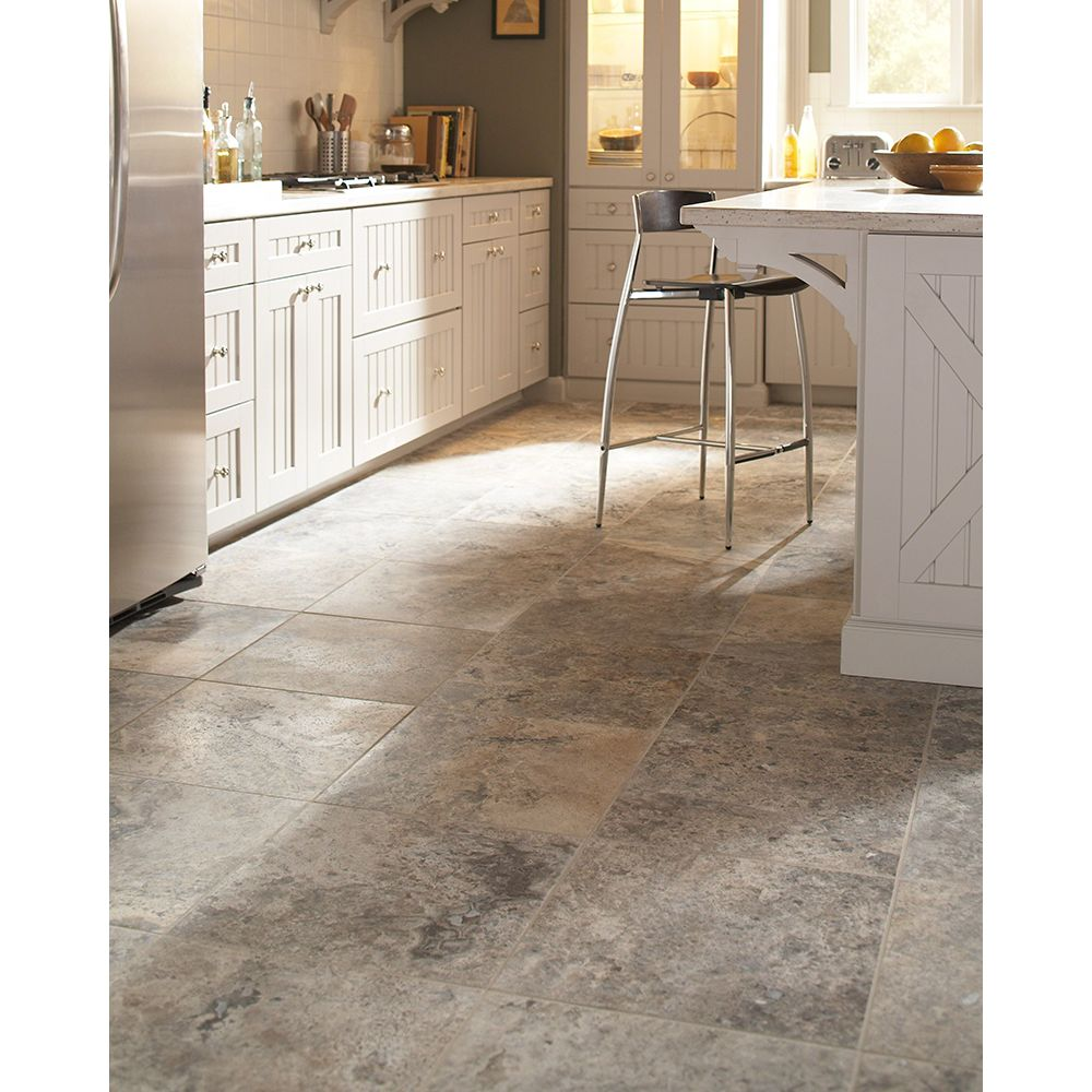 Silver Travertine 12X12 Honed / Filled
