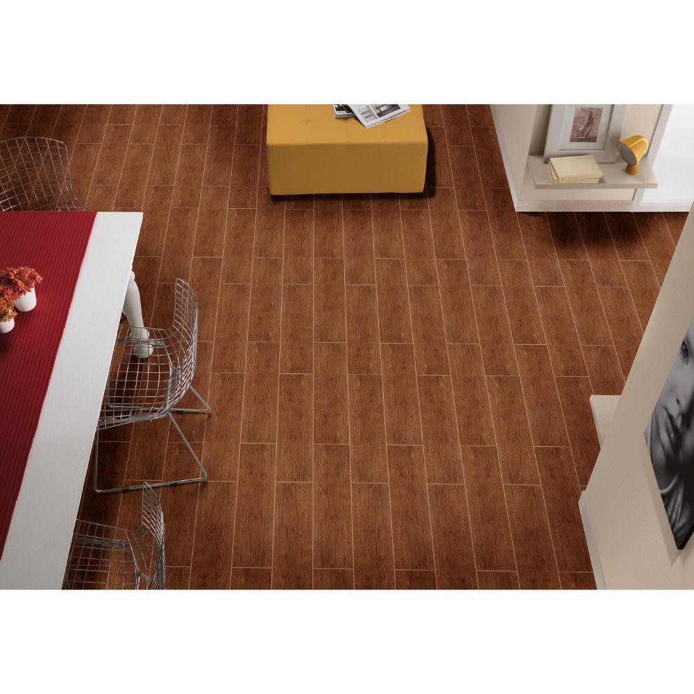 Sonoma Oak 6X24 Matte Ceramic Tile