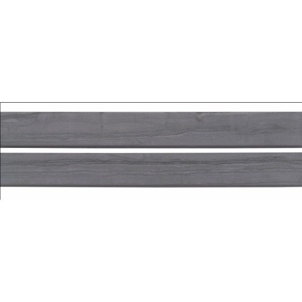 Sophie Anthracite 3X24 Matte Bullnose