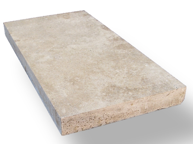 Tuscany Beige 8X16 Honed Unfilled Tumbled