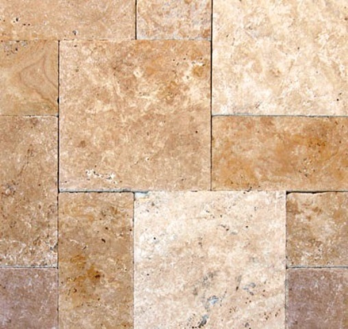 Tuscany Beige 8X8 Honed Unfilled Tumbled