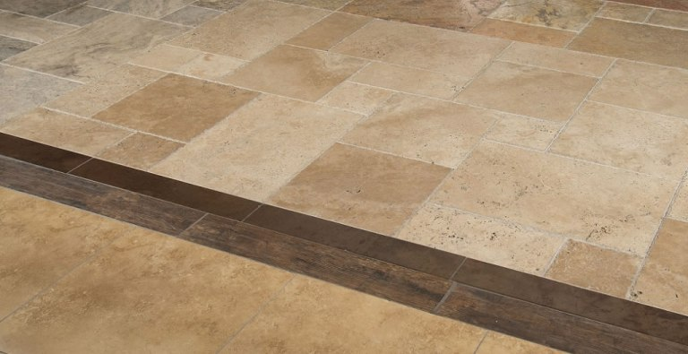Tuscany Walnut 16X16 Honed, Unfilled, Chipped And Brushed