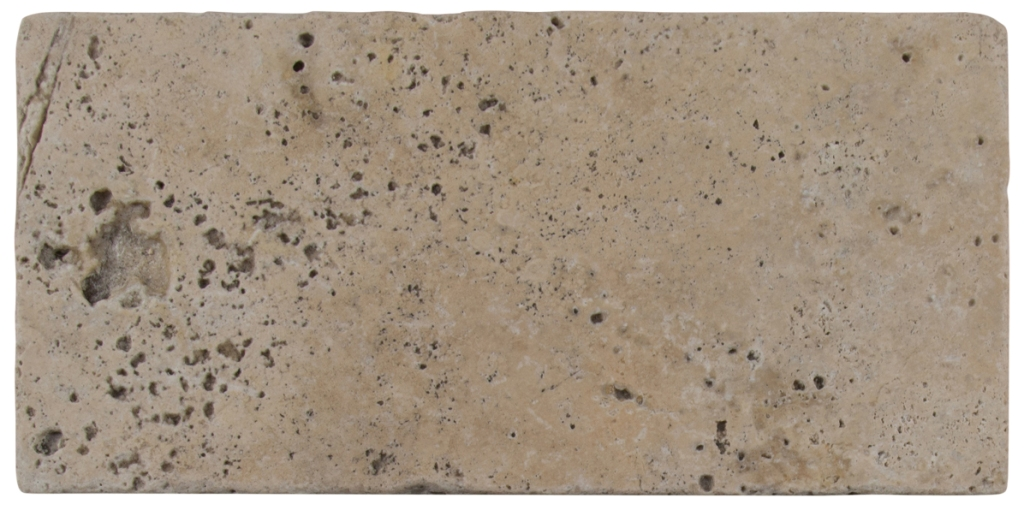 Tuscany Walnut 8X16 Honed Unfilled Tumbled Paver
