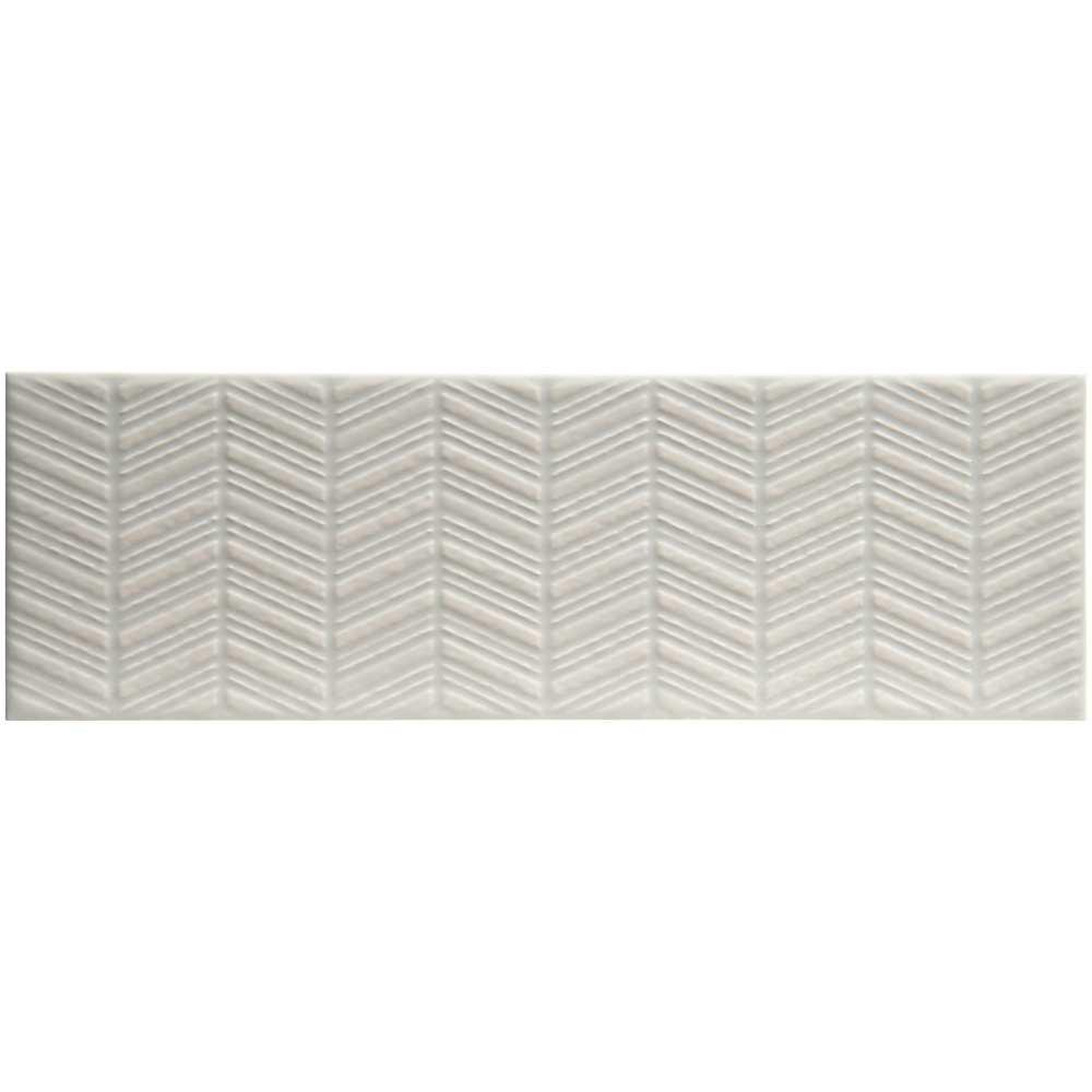 Urbano Dusk 3D 4x12 Glossy Ceramic Subway Tile