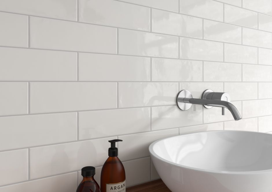 Urbano Pure 4x12 Glossy Ceramic Subway Tile