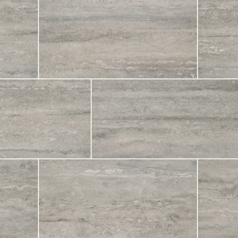Veneto Gray 12X24 Matte Porcelain Tile