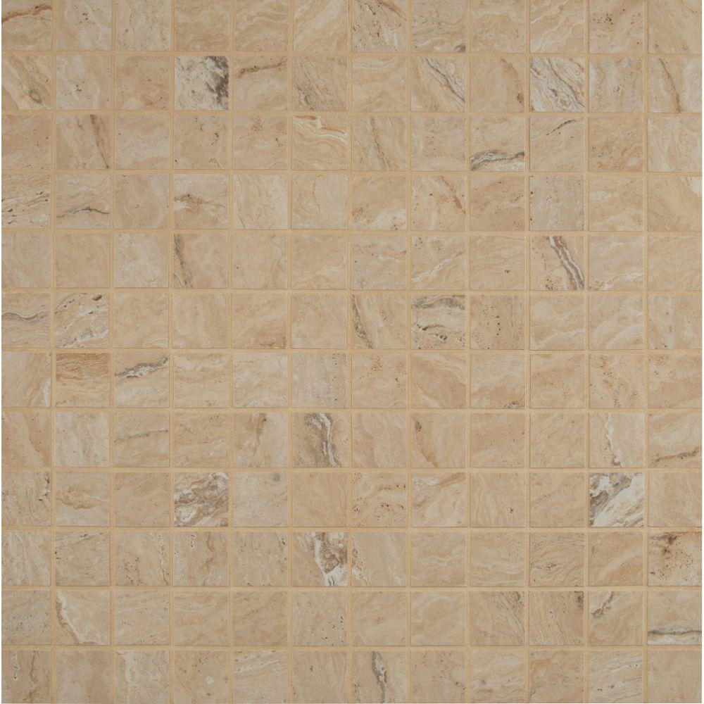 Veneto Sand 2X2 Matte Porcelain Mosaic
