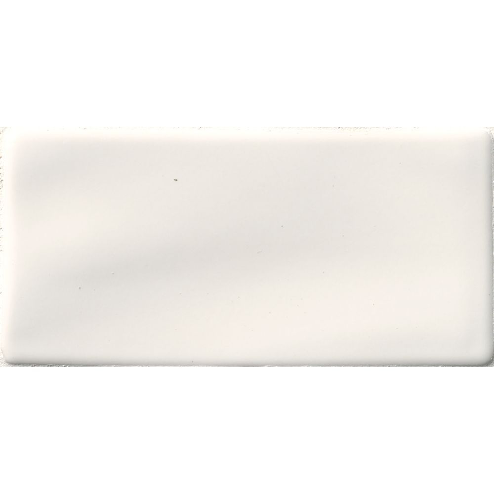 Whisper White Handcrafted 3x6 Glossy Subway