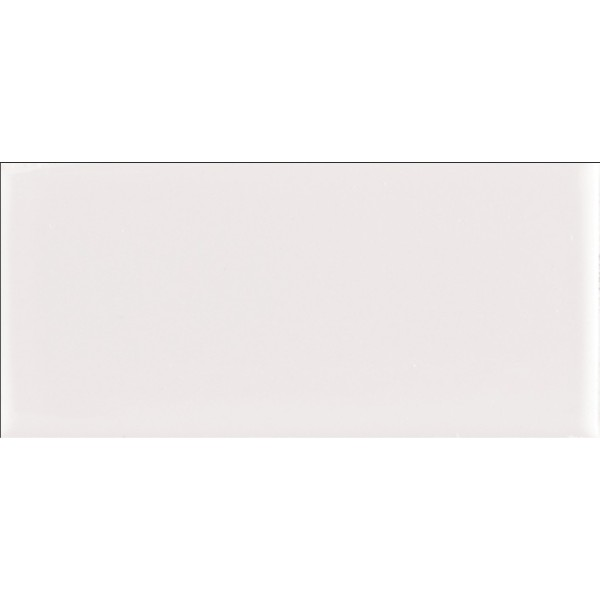 Domino White Glossy 2X4 Staggered Subway Tile