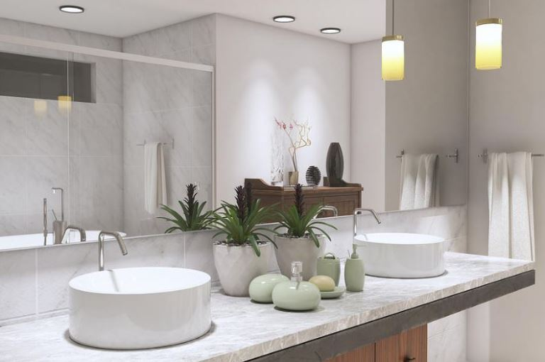 choose the right wash basin for your bathroom walls