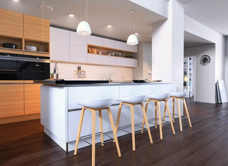 kitchen trends different color and design upper and lower cabinets