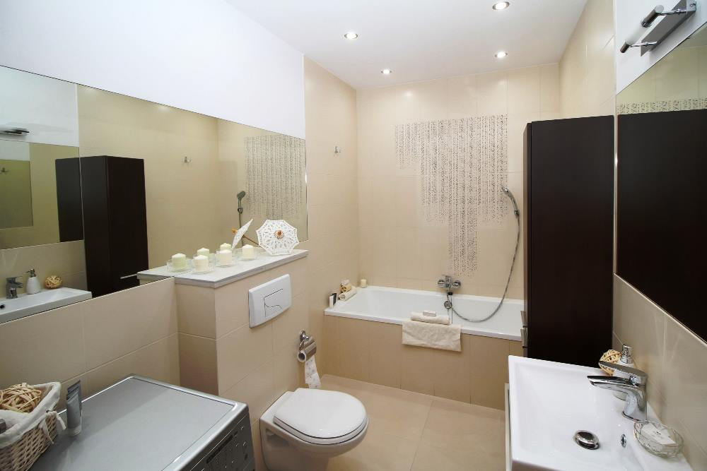 porcelain tiles are water resistant good for bathroom